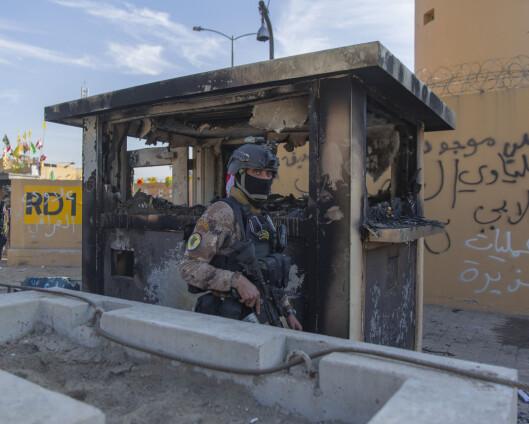 Irak slår ned på ulovlige våpen etter flere angrep mot baser