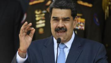 SANKSJONER: Venezuelas president Nicolas Maduro ønsker Trump å få fjernet fra makten.