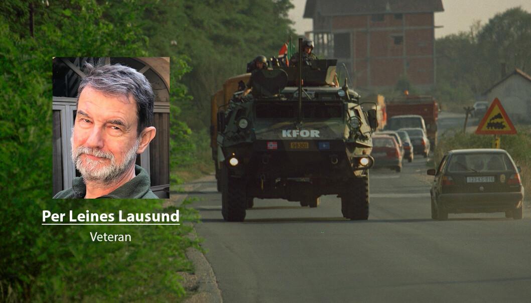 Norske soldater har blitt sendt til konfliktområder de fleste år siden 1945, skriver Per Leines Lausund. Her ser vi norske styrker i Kosovo.