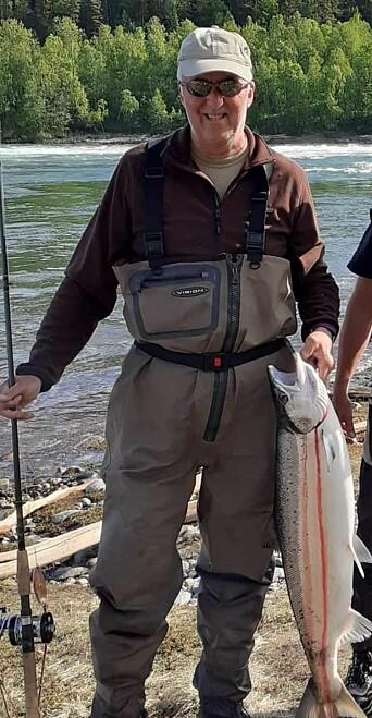 Brigader Johannes Nytrøen får skryt for hvordan han fisket frem unge ledertalenter på tidlig 90-tall. På oppfordring fra Forsvarets forum sendte han i sommer over dette bildet fra pensjonistlivet.