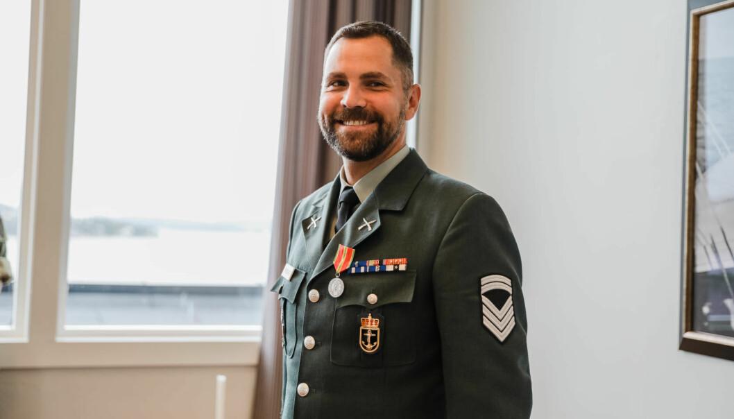 Stabssersjant Egil Johannes Grønner.