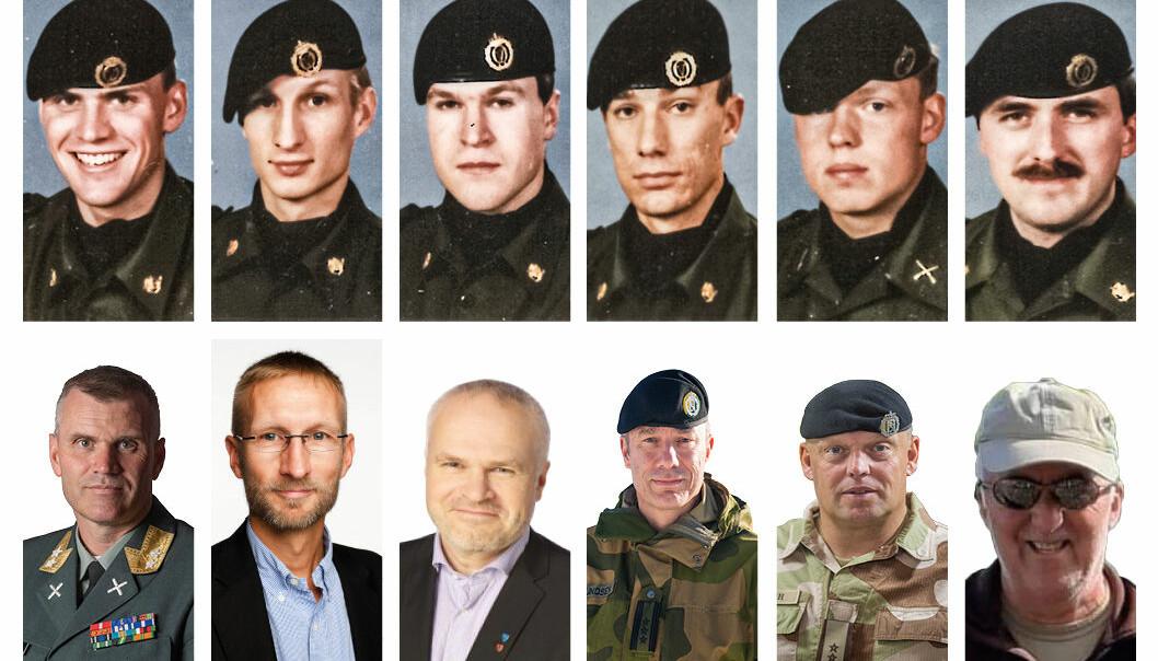 Fra venstre: Lars Lervik, Rune Sørra, Dag Sigurd Brustind, Frode Ommundsen, Einar Aarbogh og Johannes Nytrøen.