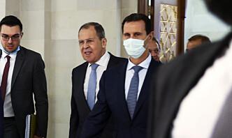 Lavrov til Syria for første gang på åtte år