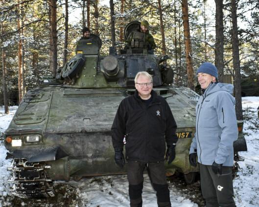 Sverige kan gi Finland militær støtte uten å spørre nasjonalforsamlingen