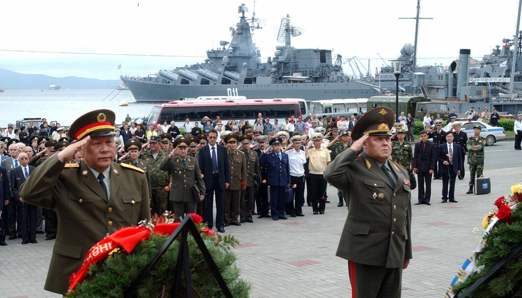 Militære styrker fra Russland, Kina, Hviterussland, Armenia, Iran, Pakistan og Myanmar skal øve sammen.