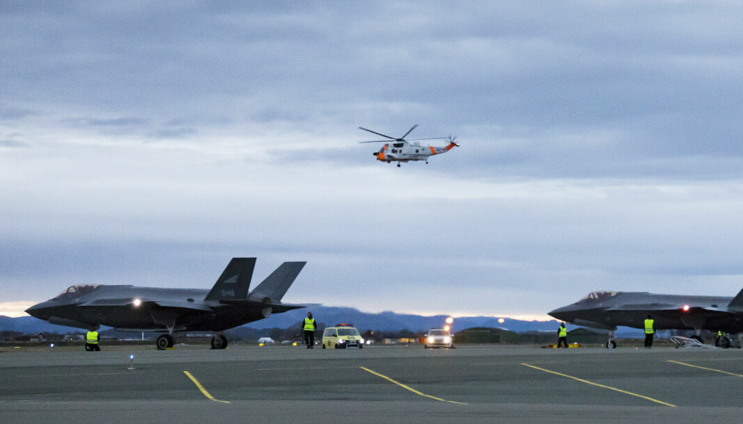 Når F-35 tar av på Ørland, har hver 6. take-off ifølge avviksmeldinger vært utenfor det mønster som støykartet tillater.