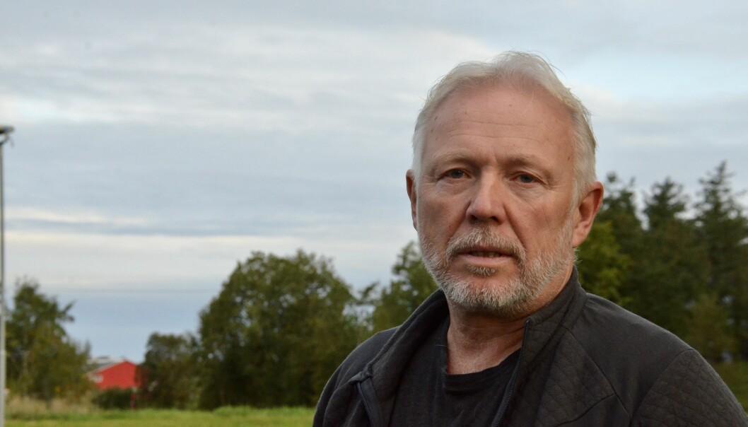 Finn Olav Odde er leder av støyutvalget i Ørland kommune.
