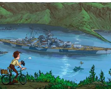 I skyggen av Tirpitz