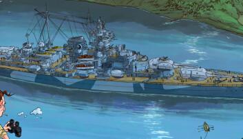 Tegner slaget mot Tirpitz