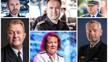 Disse seks vil bli sjef for Sjøforsvaret