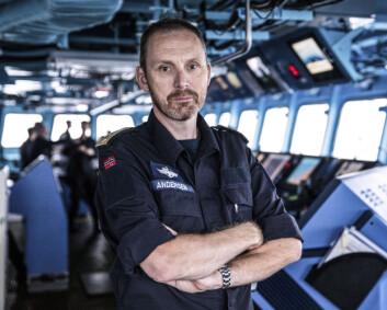 Sjef Marinen blir sjef Sjøforsvaret