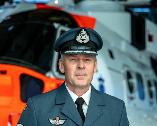 Fritz Gulbrandsen fikk Luftforsvarets fortjenstmedalje