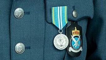 Luftforsvaret fortjenstmedalje.