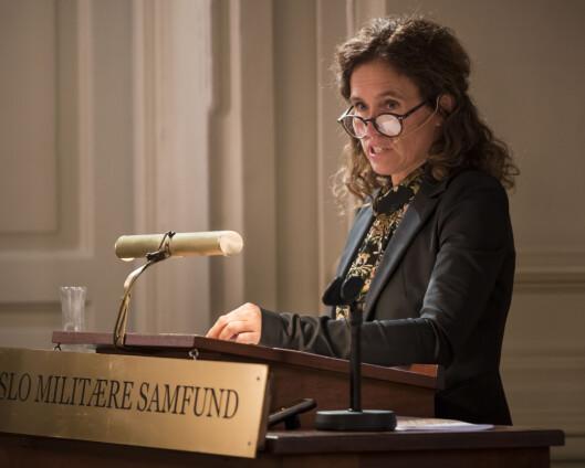 Seniorforsker Julie Wilhelmsen får Skjervheimprisen