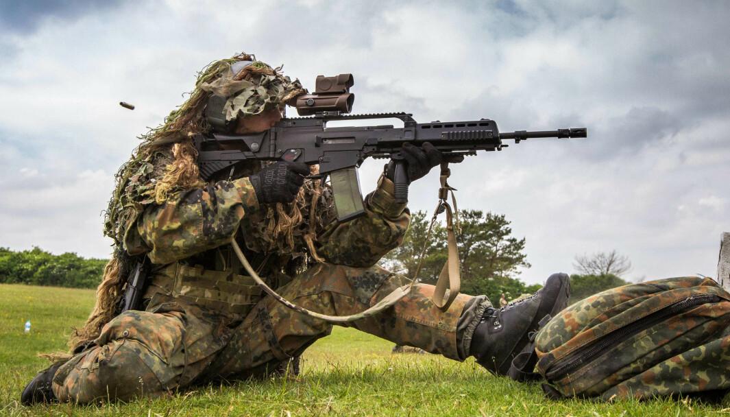 120 000 nye våpen skal kjøpes inn for å erstatte G36-riflen i det tyske forsvaret.