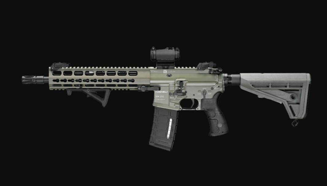 Haenel MK556 er valgt som nytt standardvåpen i Tyskland.