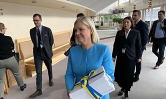 Legger ekstra milliarder i potten – nær politisk enighet om det svenske forsvaret