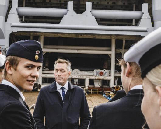 Forsvarsministeren seiler inn i ny stilling etter stortingsvalget