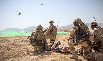 Ny undersøkelse om Afghanistan-veteraner