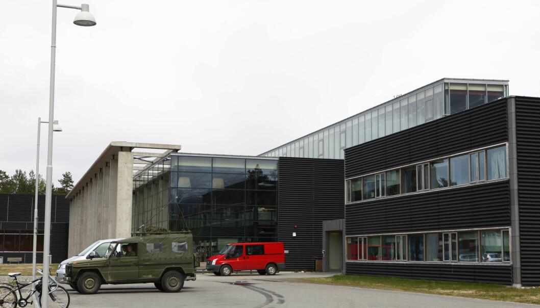 Kinoen på Bardufoss ligger i Istindportalen.