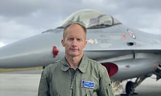 Skvadronssjef: F-16 blir viktig for Norge også etter at flyet fases ut