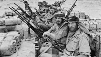 Den britiske spesialstyrken blei danna i Nord-Afrika kor dei gjennomførte operasjonar bak fiendens linjer. Mot slutten av krigen kom SAS også til Noreg.