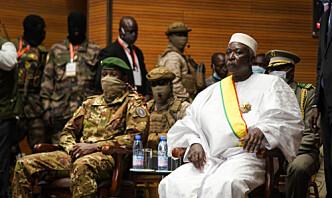 Tidligere forsvarsminister blir midlertidig president i Mali