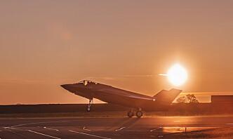 Nye kampfly kom til Ørland