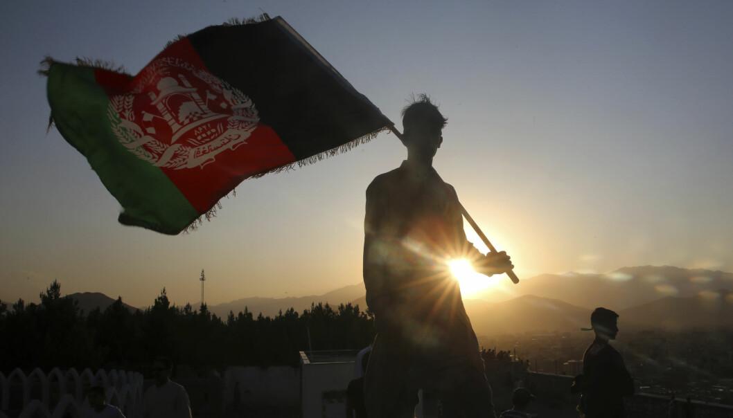 Dette illustrasjonsfotoet ble tatt under feiringen av Afghanistans uavhengighetsdag i fjor.