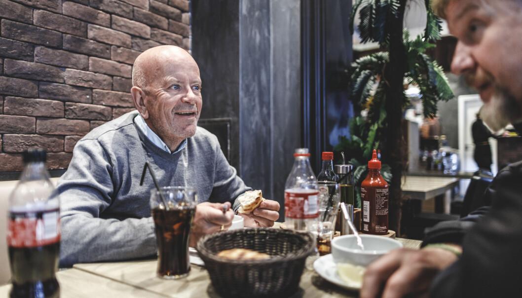 Ole Vikre er tilkjent kompensasjon som følge av skadene han fikk etter tjenesten i Libanon. Dette bildet er fra da han var på miljøtrening, en type eksponeringsterapi, på Grønland i Oslo.