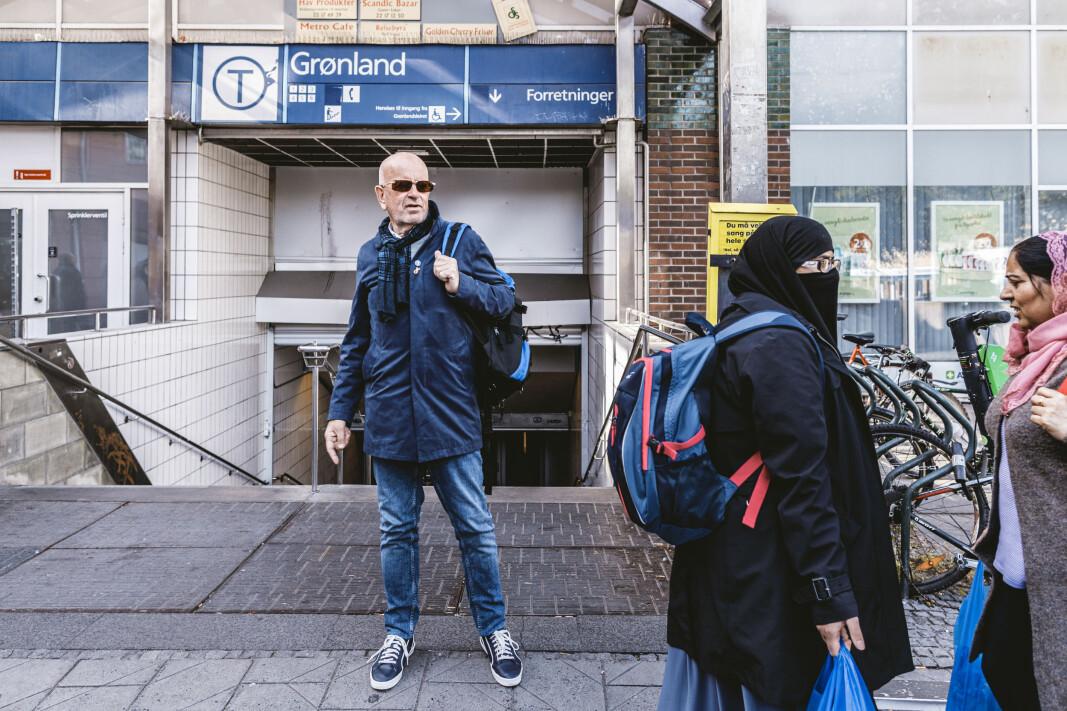 Hver gang Ole Vikre er i Oslo besøker han Grønland. Enkelte dagligdagse opplevelser kan ta ham tilbake til Libanon, forteller veteranen.