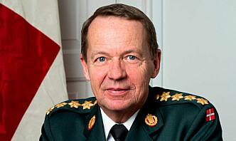 Danmarks forsvarssjef Bjørn Bisserup pensjonerer seg