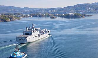 Haakonsvern-kai skal oppgraderes for 120 millioner