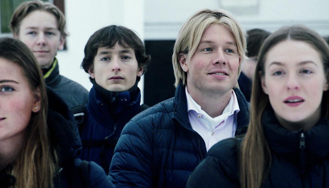 Preben Lohrengren er en av karakterene i NRK-serien Førstegangstjenesten.