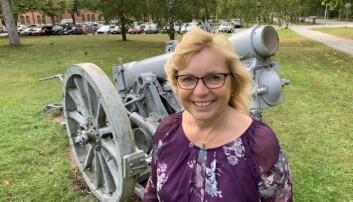 Det er mest positivt med Forsvarets retur, mener Region Gotlands ordfører, Centerns Eva Nypelius.