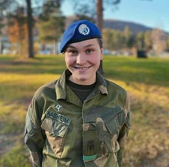 Live Bjor Aasheim er tillitsvalgt i Sambandsbataljonen.