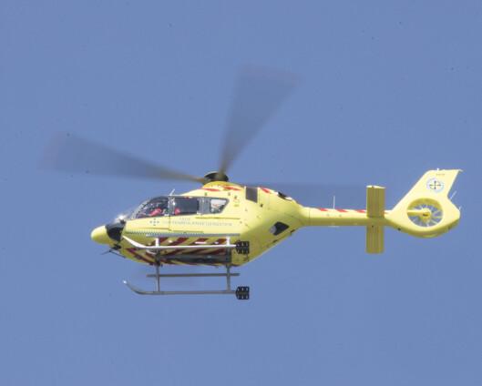 Statsbudsjettet: 60 millioner kroner til ambulansehelikopter