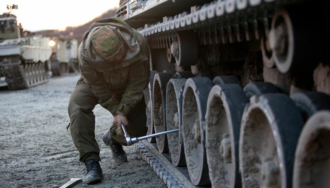 Omlag 500 millioner settes av for å styrke forsyningsberedskapen i forsvarsbudsjettet for 2021. Det er særlig Hæren som prioriteres.