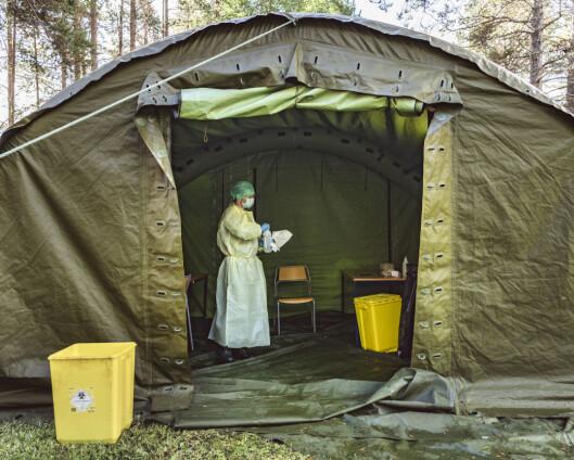 Militærleirer med permisjonsnekt etter smitteutbrudd i Troms