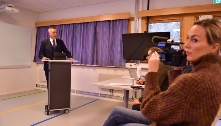 Forsvarsministeren la frem budsjettet for 2021 i Alta denne uka.