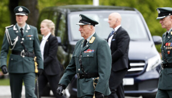 Kong Harald ble torsdag operert