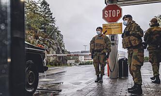 Over 300 i karantene på Haakonsvern