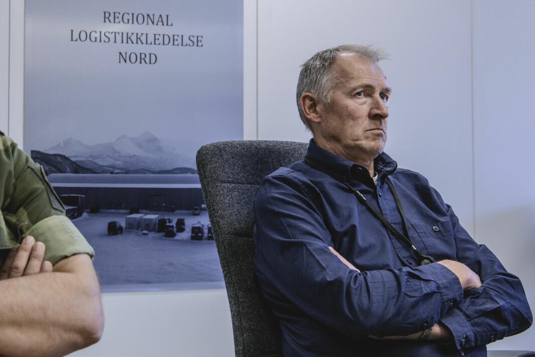 Halvor Berntsen er førstekonsulent i FLO Regional Logistikkledelse Nord.