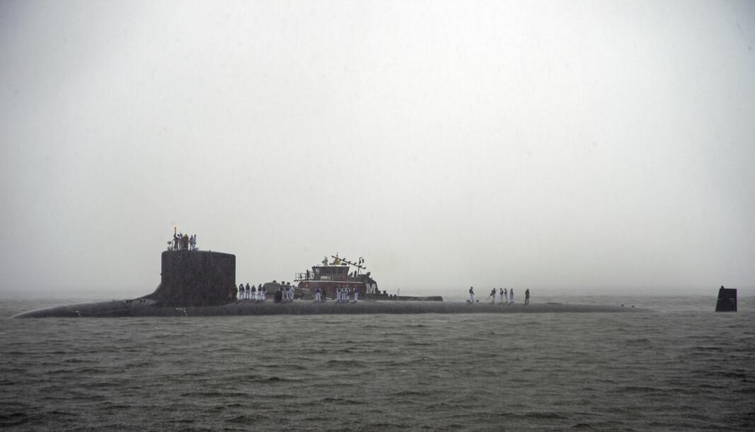 Tromsø-kommunes nei til å etablere en base for amerikanske reaktordrevne ubåter, er en potensiell konflikt som kan undergrave tilliten mellom regjeringen og innbyggerne i Tromsø, skriver Gunhild Hoogensen Gjørv. Her ser vi den amerikanske ubåten USS New Hampshire.