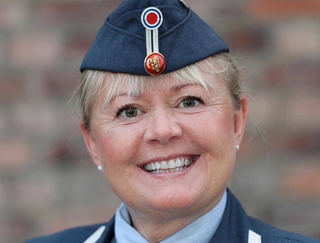 Obersløytnant Lena Kvarving blir å finne i Østerrike frem til nyttår.