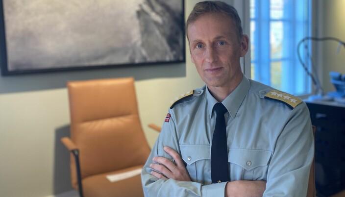 Eirik Kristoffersen har tidligere vært sjef for både Heimevernet og Hæren.