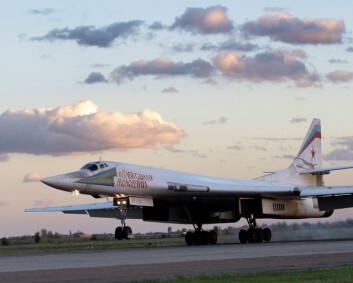 Russiske fly på tokt utenfor kysten av Norge