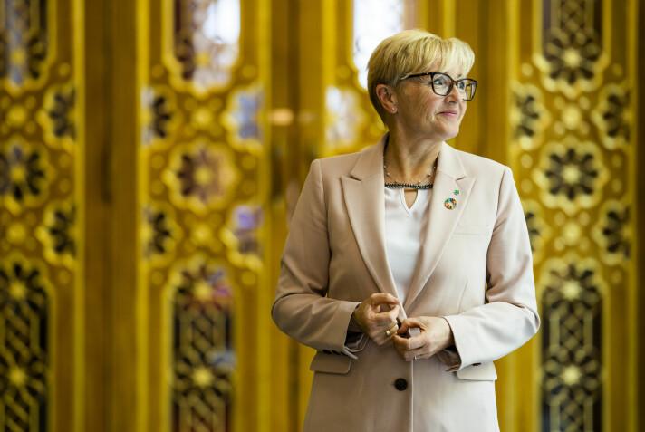 TALSPERSON: Liv Signe Navarsete er Senterpartiets forsvarspolitiske talsperson
