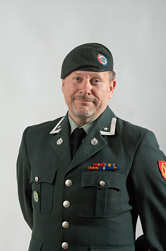 Thomas Norman Hansen, hovedvernombud i Hæren.