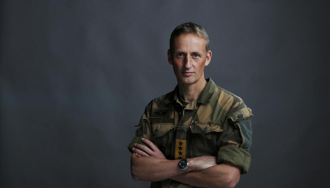 Forsvarssjef General Eirik Kristoffersen.